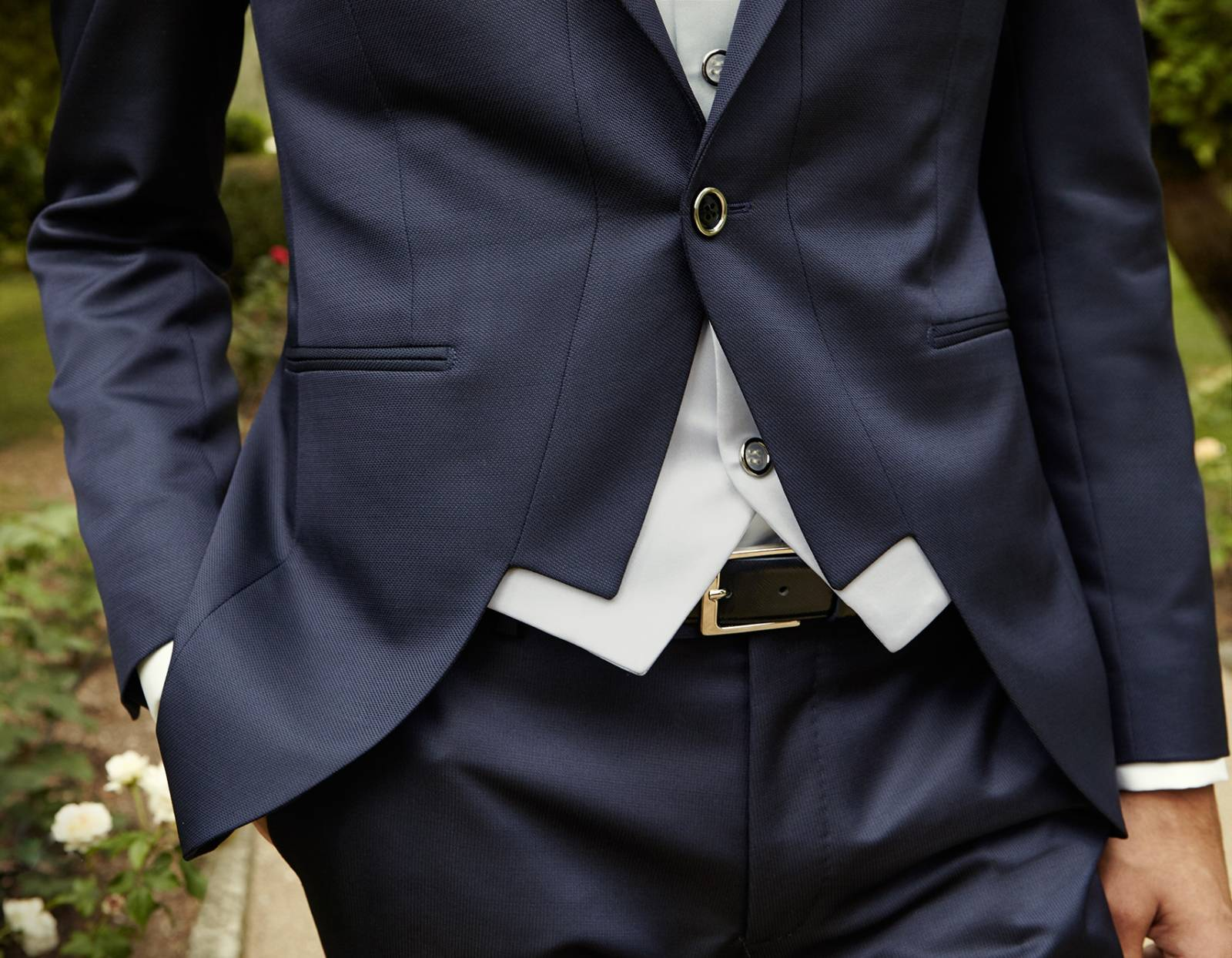 VESTE de costume mariage CINTREE manosque